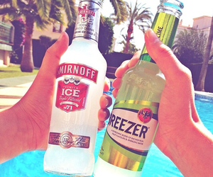 summer, drink, and breezer image