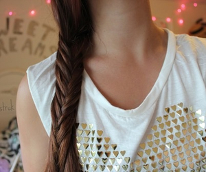 fashion, hair, and fishtail image