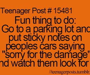 funny, teenager post, and car image