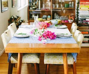 dining room, food, and home image