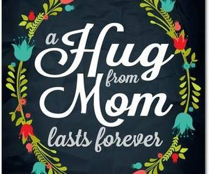 hug, mom, and mother image