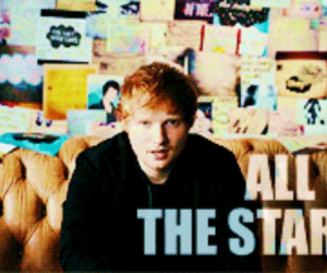 ed sheeran, the fault in our stars, and all of the stars image