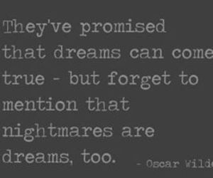 quote, oscar wilde, and Dream image