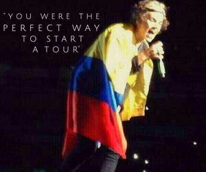 1d, colombia, and harry image