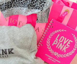 clothes, pink, and love pink image