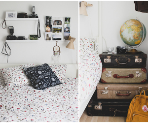 bedroom and travel image
