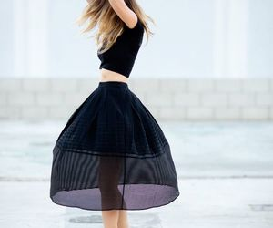 black, fashion, and perfection image
