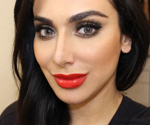 beaut, red lips, and makeup tutorials image