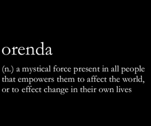 quotes, orenda, and words image