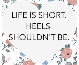 heels, life, and short image