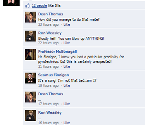 facebook, harry potter, and ron weasley image