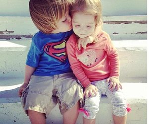 love, i love u more, and kids ;d image