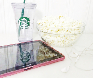 fashion, popcorn, and relax image