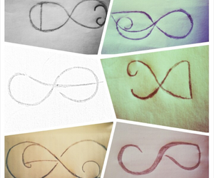 infinity, missyou, and love image