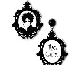 earrings, goth, and gothic image