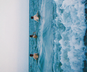 ocean, sea, and friends image