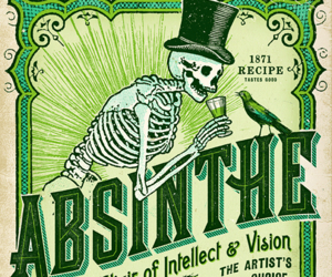 absinthe and victorian image