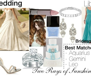 astrology, blue, and bride image