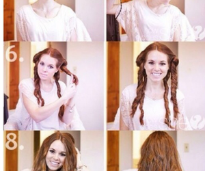brunette, curls, and Easy image