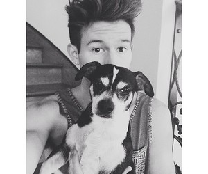dog, wishbone, and ricky dillon image