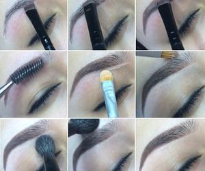 diy, eyebrows, and tutorial image