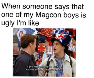 magcon and friends image