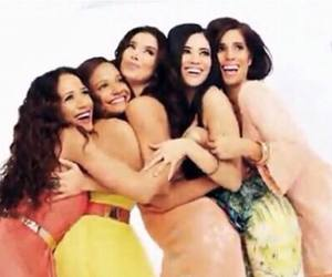 happy, roselyn sanchez, and friends image
