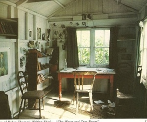 room, old, and chair image