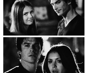 delena, the vampire diaries, and ian somerhalder image