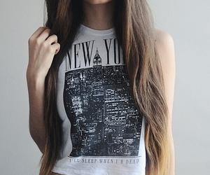 girl, new york, and fashion image