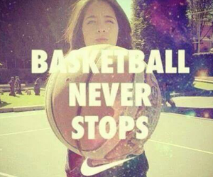 Basketball, stops, and never image