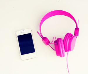 colorful, colors, and headphones image