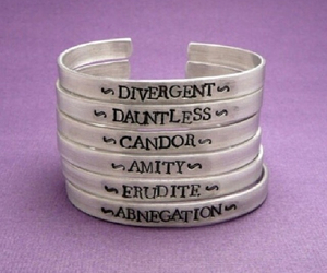 divergent, factions, and love image