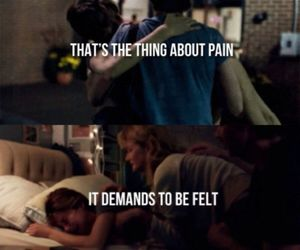 pain, Shailene Woodley, and the fault in our stars image