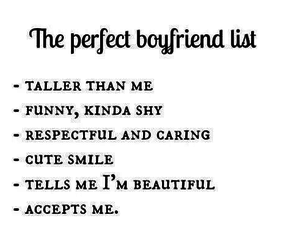 boyfriend, His, and list image