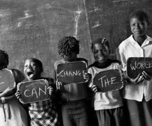 world, change, and child image
