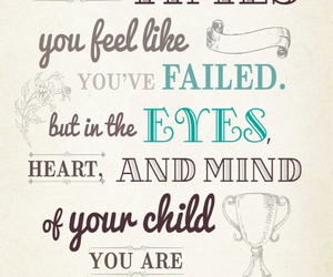 mom, quotes, and child image