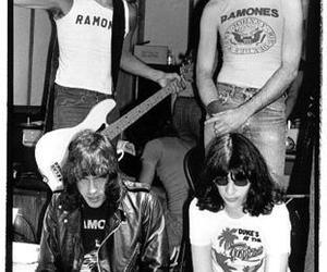 70's, marky ramone, and b&w image