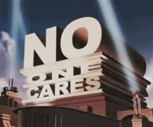 funny, no one cares, and care image