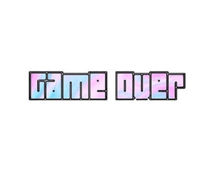 game over, overlay, and transparent image