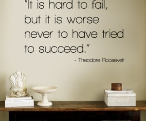 fail, theodore roosevelt, and life image