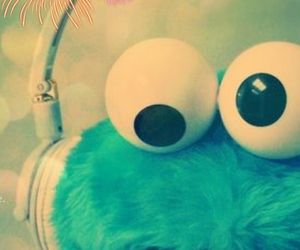 baby, follow, and cookiemonster image