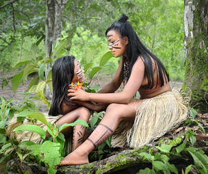 amazonia, indians, and beautiful image
