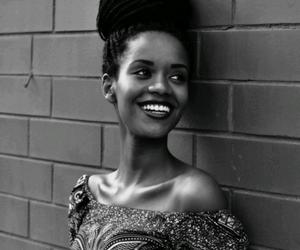 smile, beautiful, and braids image