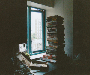 books, grunge, and indie image