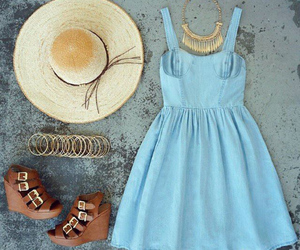 dress, look, and summer image