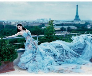 dress, paris, and Dita von Teese image