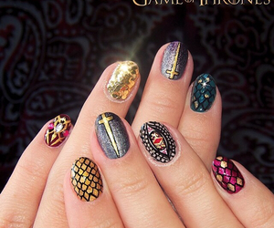 nails, nice, and game of thrones image