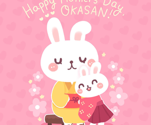 japan, happy mother's day, and kawaii image