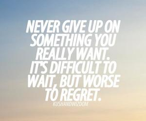 quote, regret, and difficult image